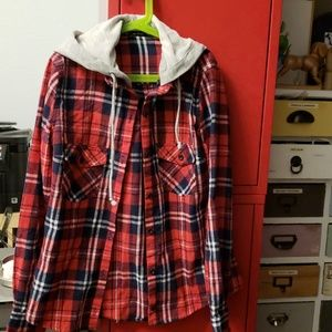Flannel Red Shirt